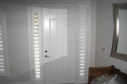 Decorative Glass Door Inserts and Blinds