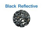 Black Reflective Glass Fire Chips