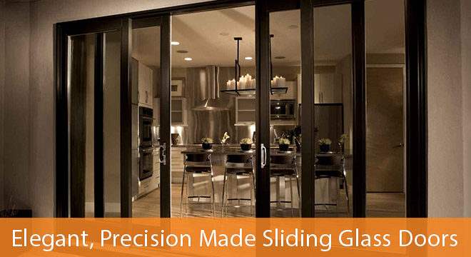 Precision Made Sliding Glass Doors